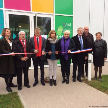 Inauguration de la Crèche Intercommunal de Flixecourt
