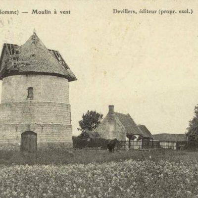 Les moulins du Val de Nièvre - Flixecourt, moulin Basile (coll.