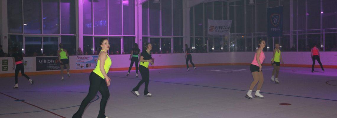 Gala de patinage à l'Iceberg