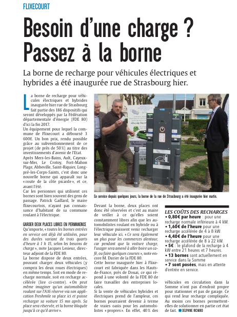 Article Courrier Picard 17 mai 2017