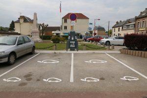 Borne de recharge voiture électrique Flixecourt