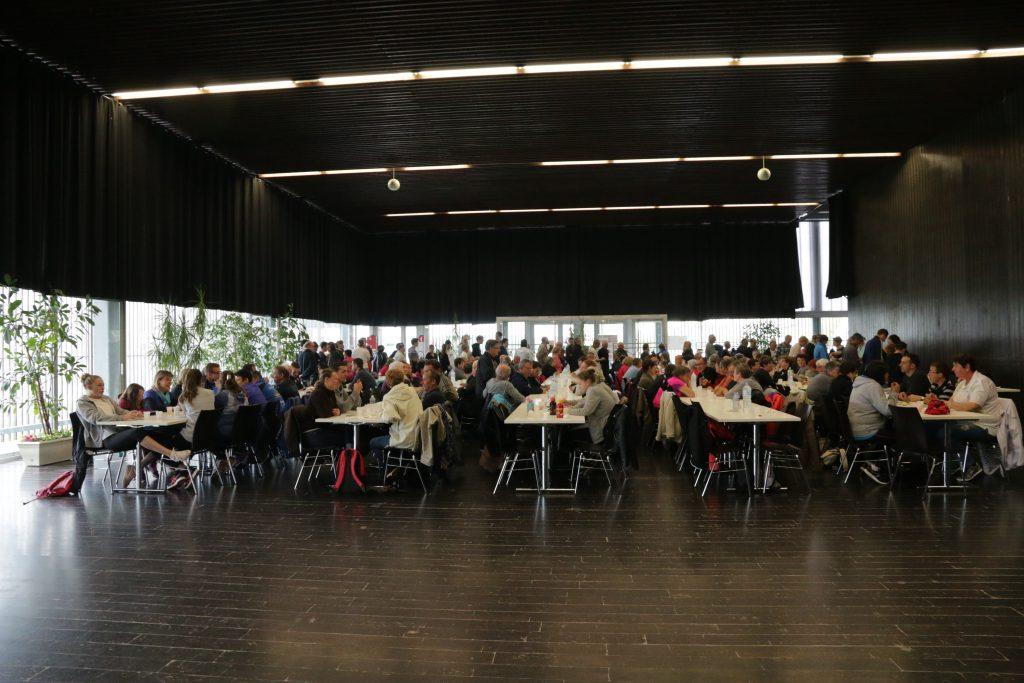 Le repas Marche Surcamps Flixecourt 2017