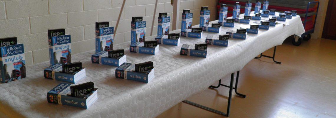 Récompenses écoliers CM2 Flixecourt