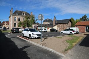 Parking de la Mairie Flixecourt