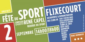 Fête du sport 2017 Flixecourt