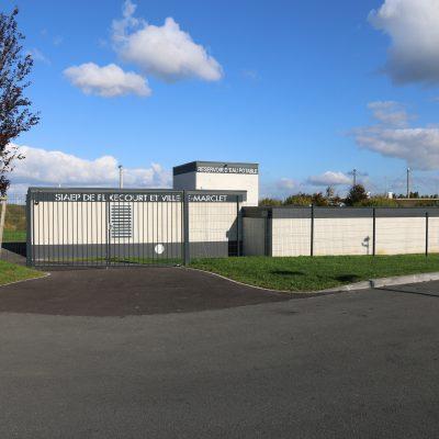 Nouveau réservoir d'eau potable (SIAEP de Flixecourt et Ville Le Marclet)