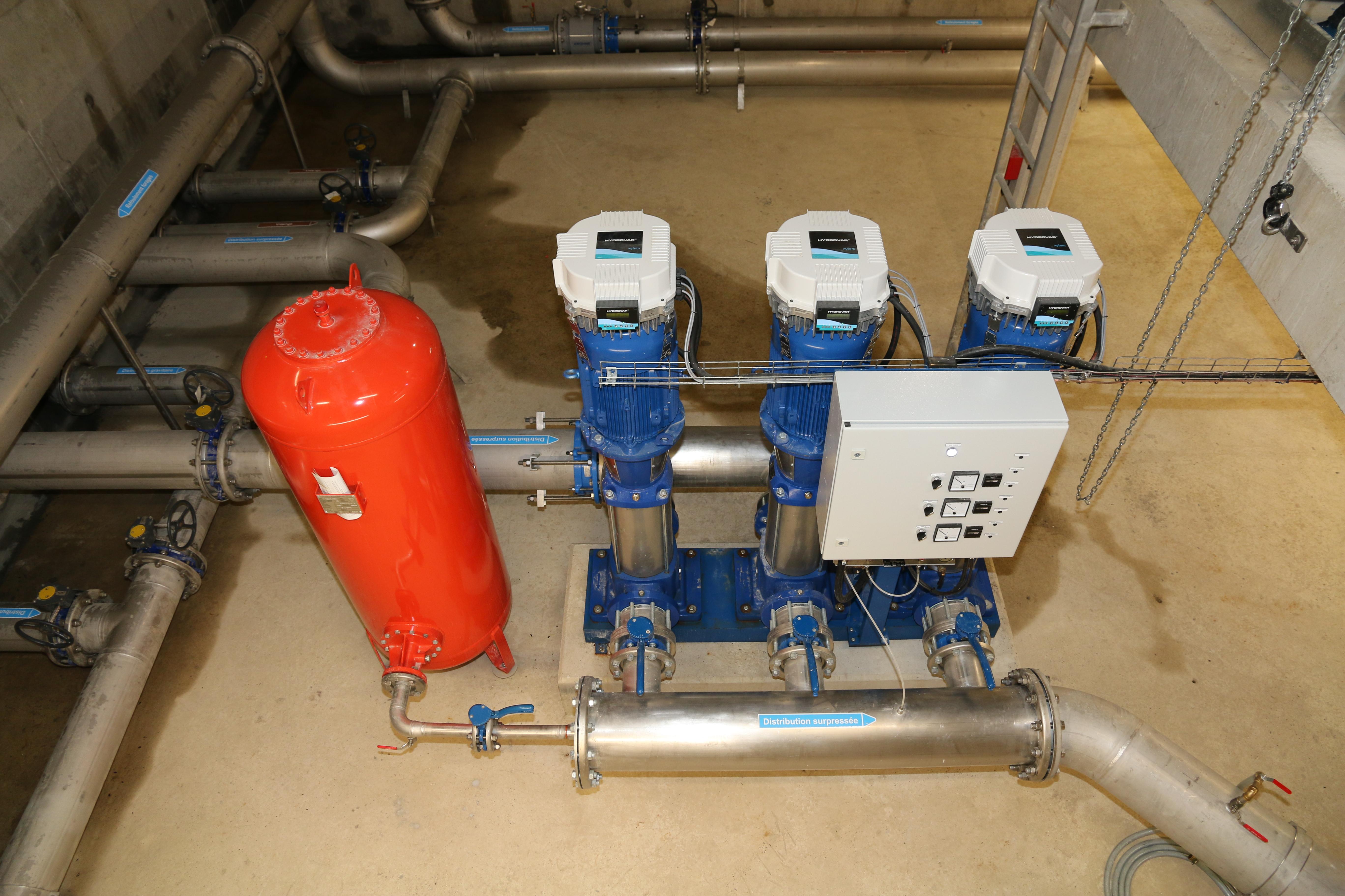 surpresseurs eau potable