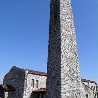 L'église de Puyoô