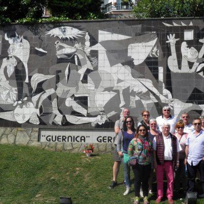 Ville de Guernica en Espagne