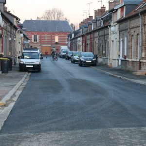 La nouvelle chaussée rue Léon Hénocque