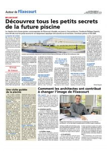 Piscine intercommunale article Journal d'Abbeville