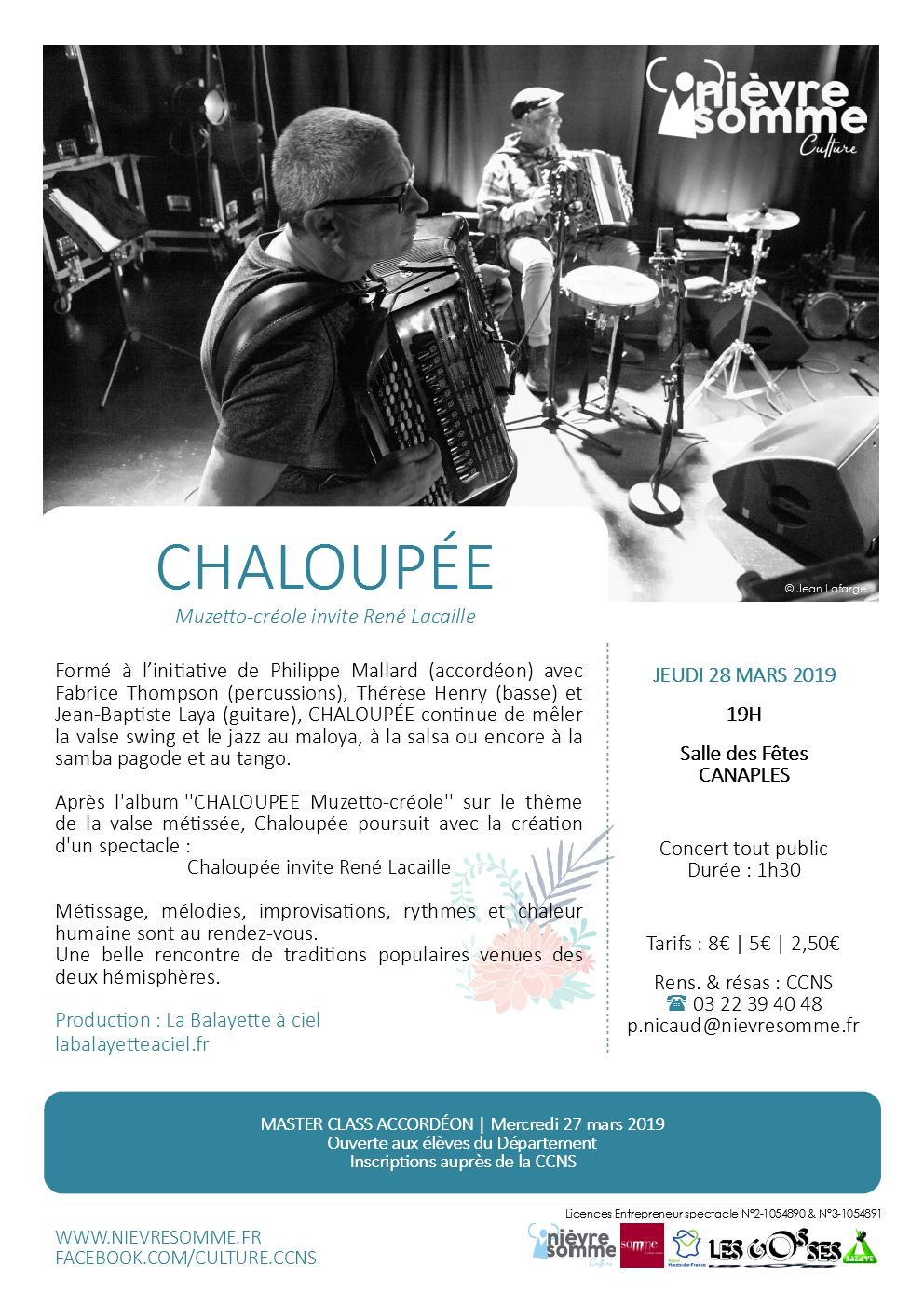 Spectacle CCNS chaloupee