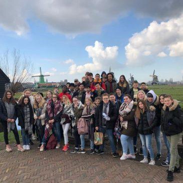 FLIXECOURT – ALMERE (PAYS-BAS) : d'un moulin à l'autre, trait d'union incitant au voyage …