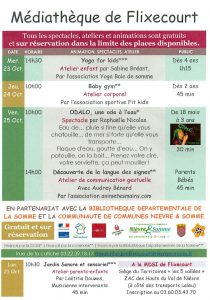 Programme Festival Parents bébés 2019