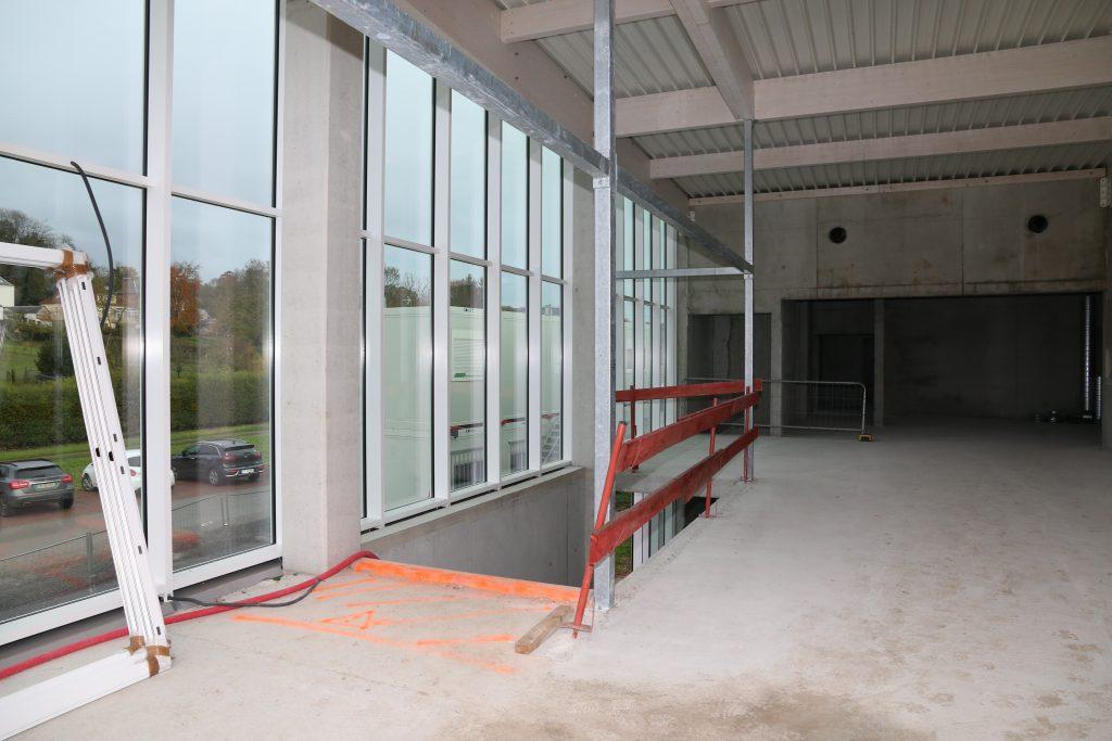 Escalier d'accès au hall d'entrée