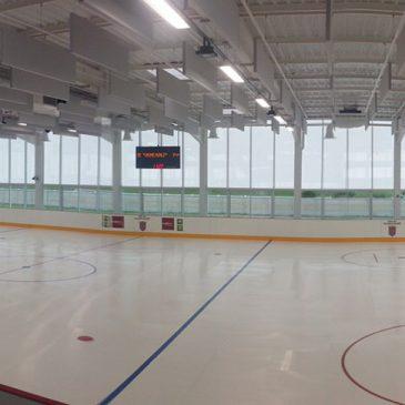 Réouverture de la patinoire communale
