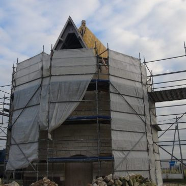 Le Moulin Basile retrouve un toit