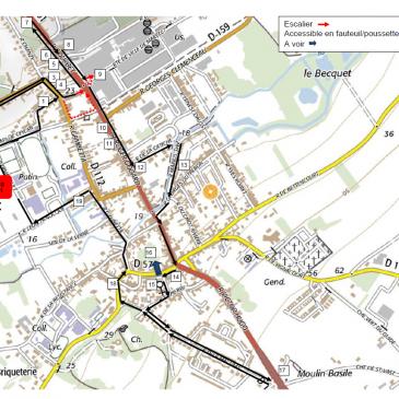 Parcours découverte à pied du patrimoine de Flixecourt